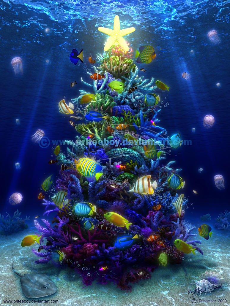 A Christmas Coral by priteeboy
