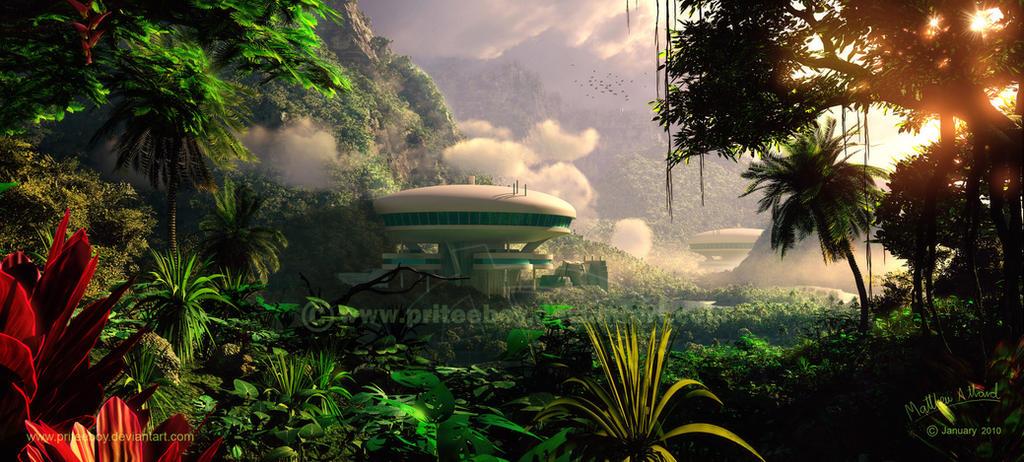 Rainforest Residence by priteeboy