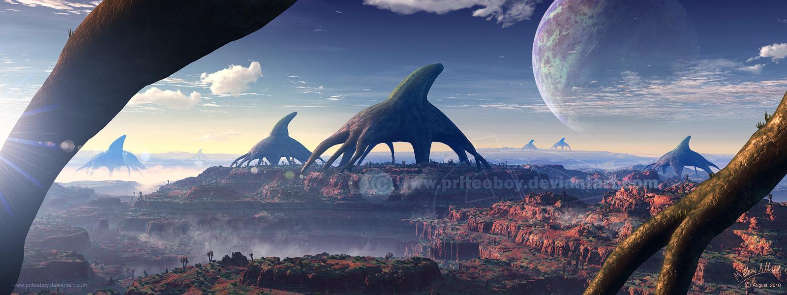 Megahorn Mesa by priteeboy