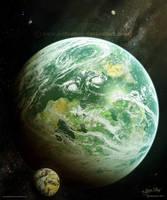 Kepler's Discovery by Chromattix