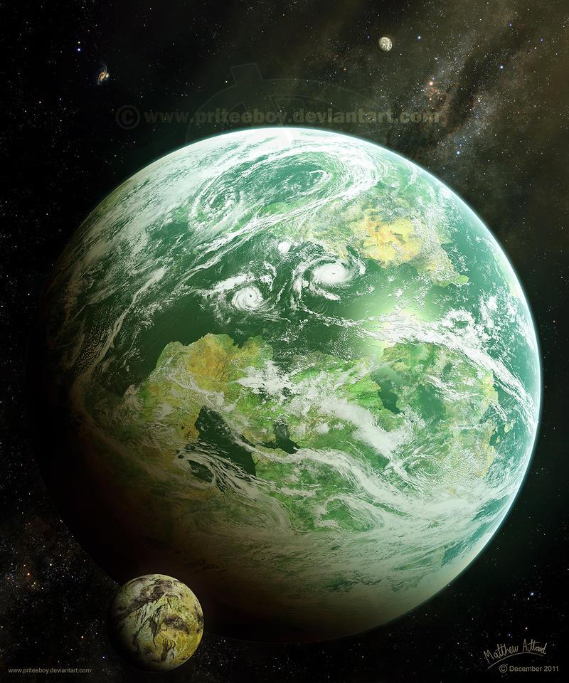 Kepler's Discovery by priteeboy