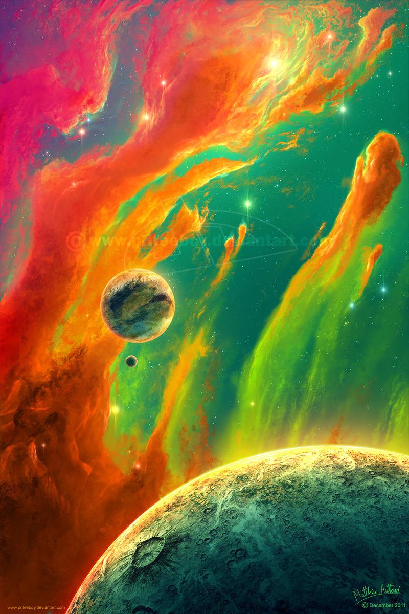 Painted Sky by priteeboy