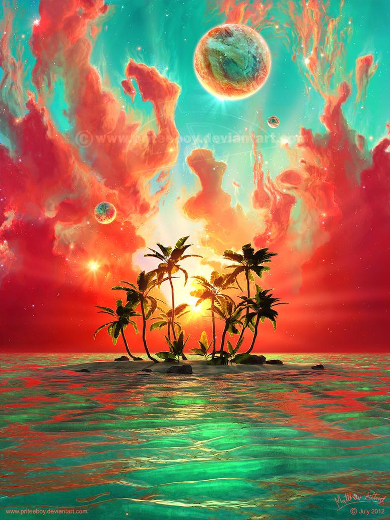 Summer Paradise by priteeboy