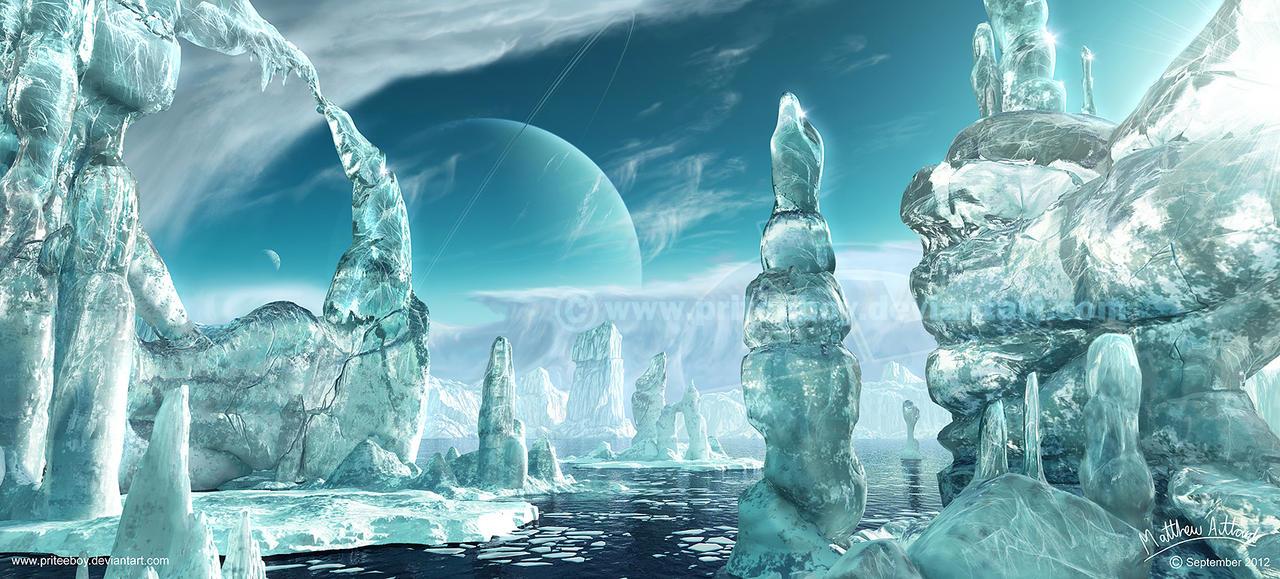 Ice World II by Chromattix
