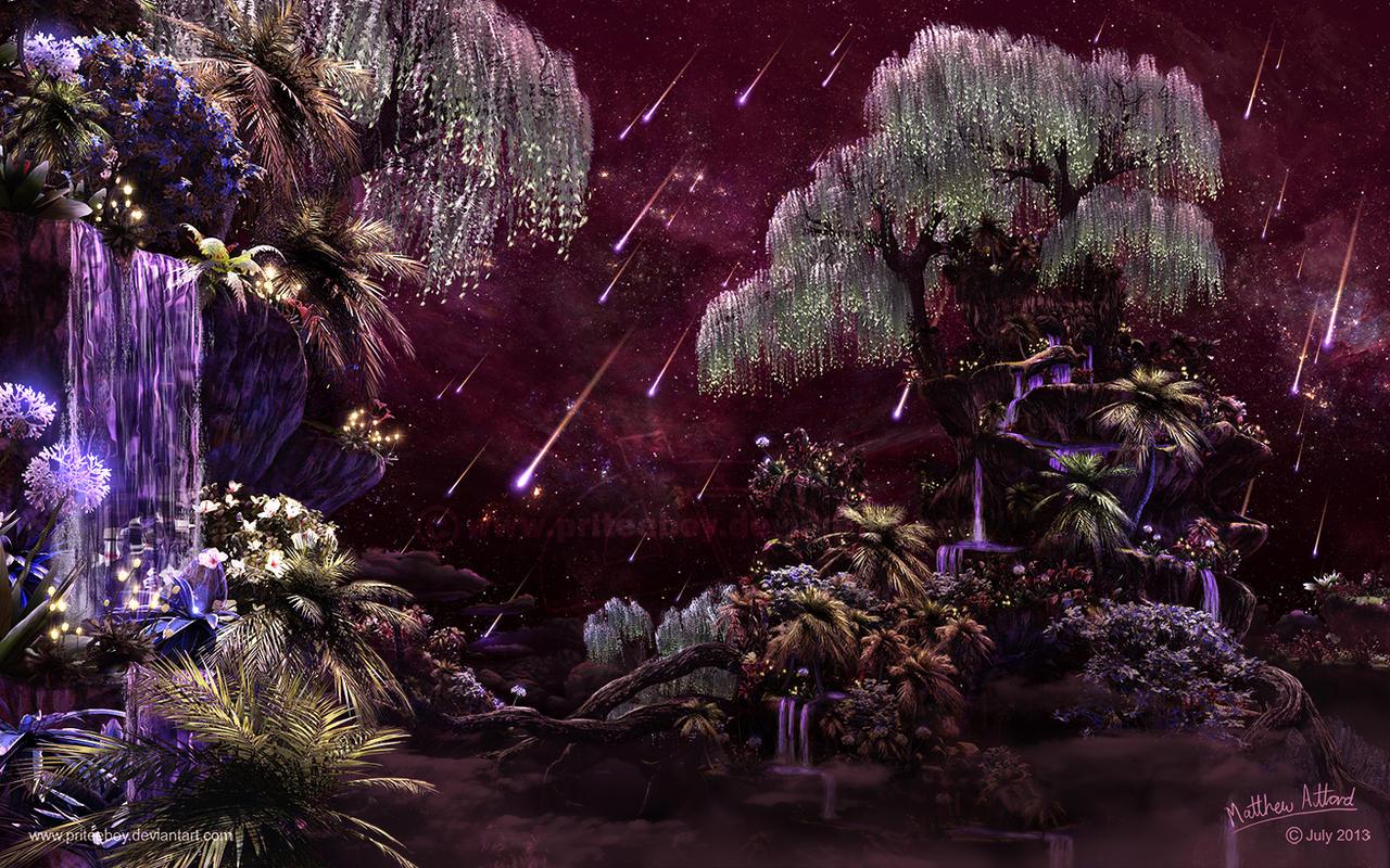 Star Garden by priteeboy