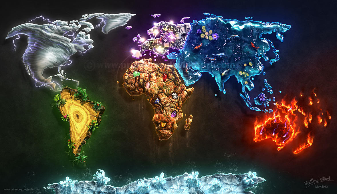 Elements of the world by chromattix on deviantart elements of the world by chromattix gumiabroncs Choice Image