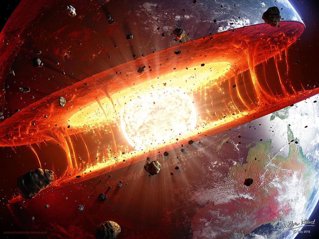 Earth's Engine Exposed by priteeboy on DeviantArt