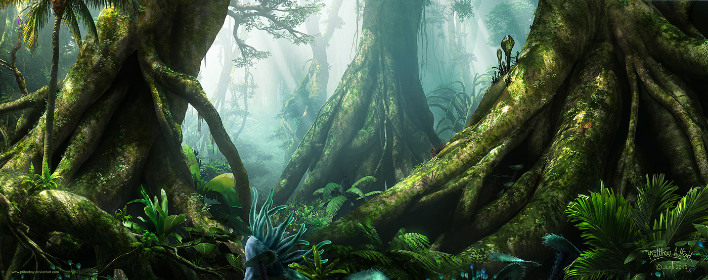Pandoran Forest by priteeboy