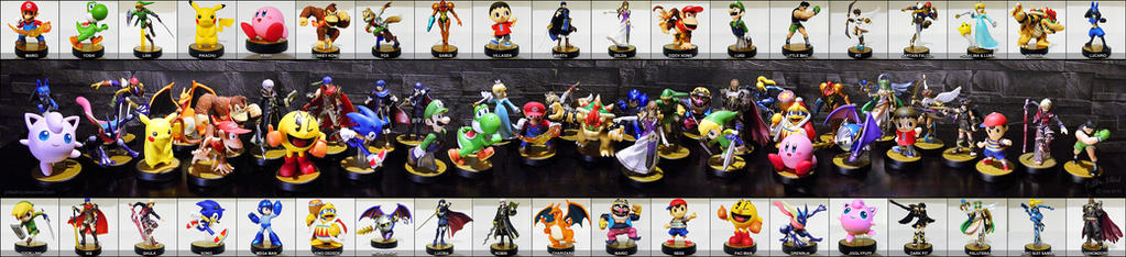 My Amiibo Collection So Far by priteeboy