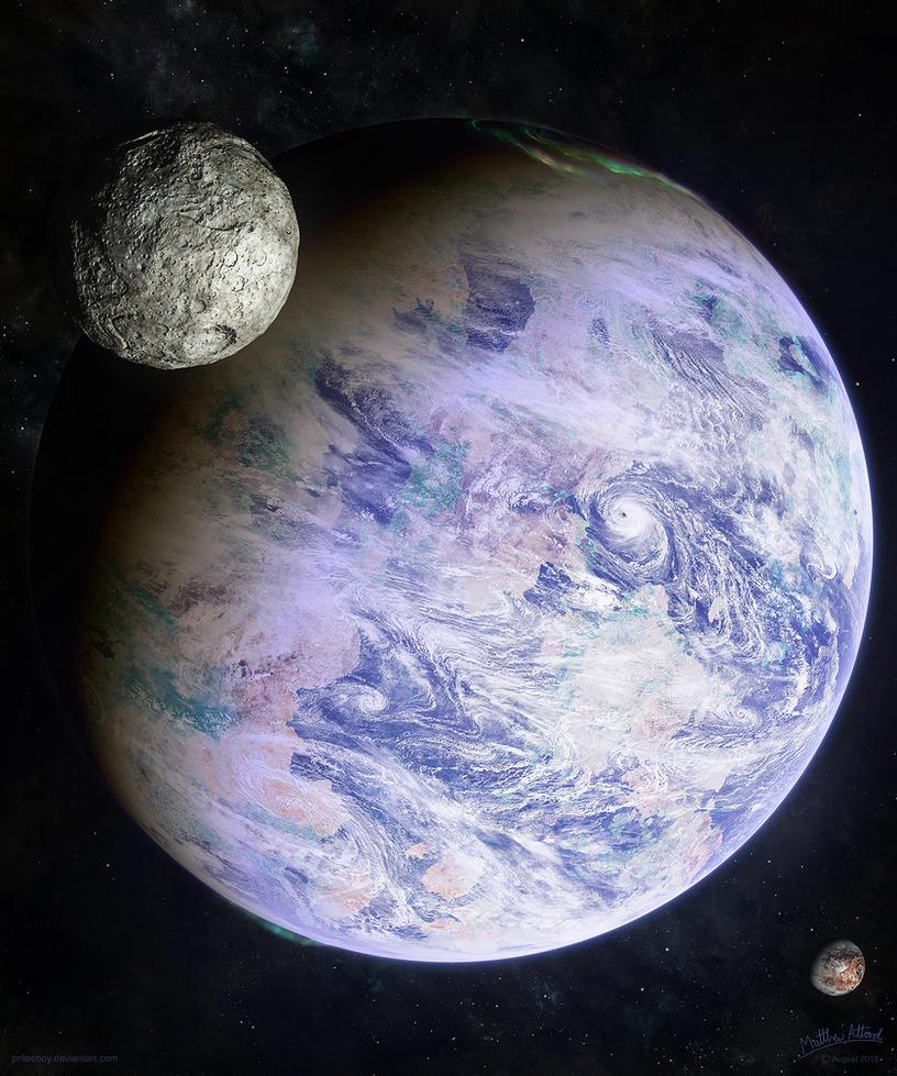 Kepler's Discovery II by priteeboy