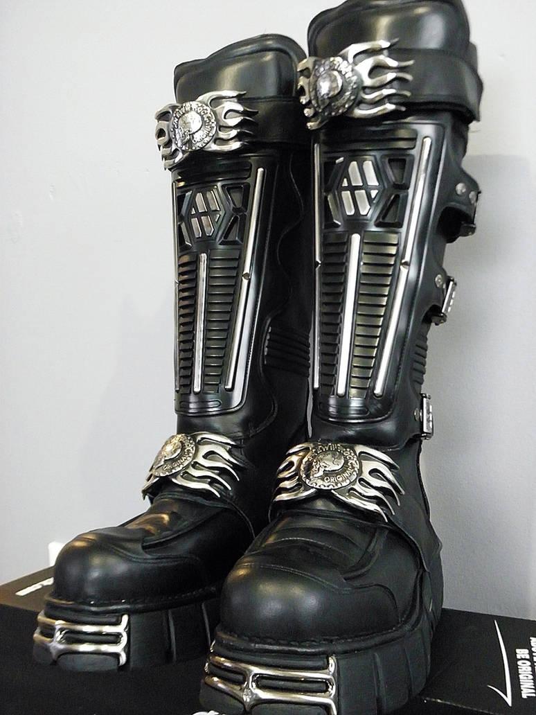 675f2d9b800d New Rock Boots by Chromattix on DeviantArt