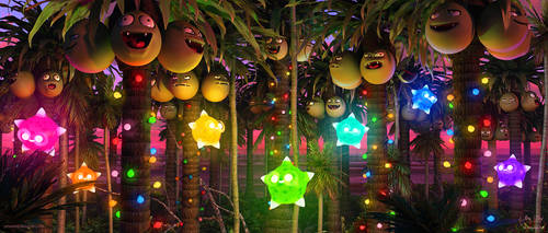 Alolan Festivities by Chromattix