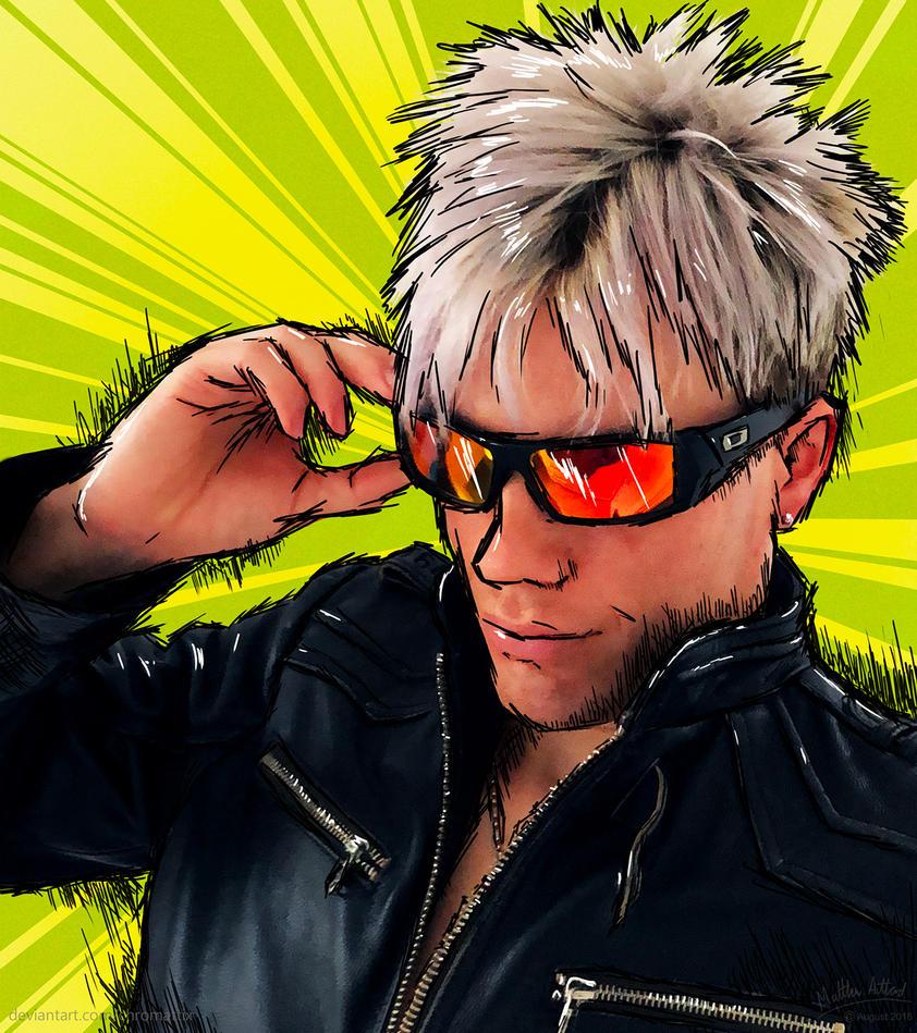 Manga Man by Chromattix