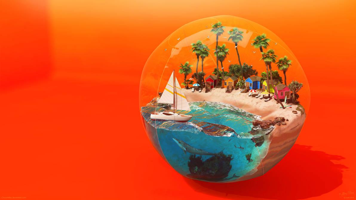 Beach Ball by Chromattix