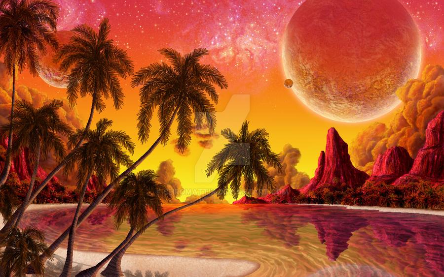 Planetary Paradise by priteeboy
