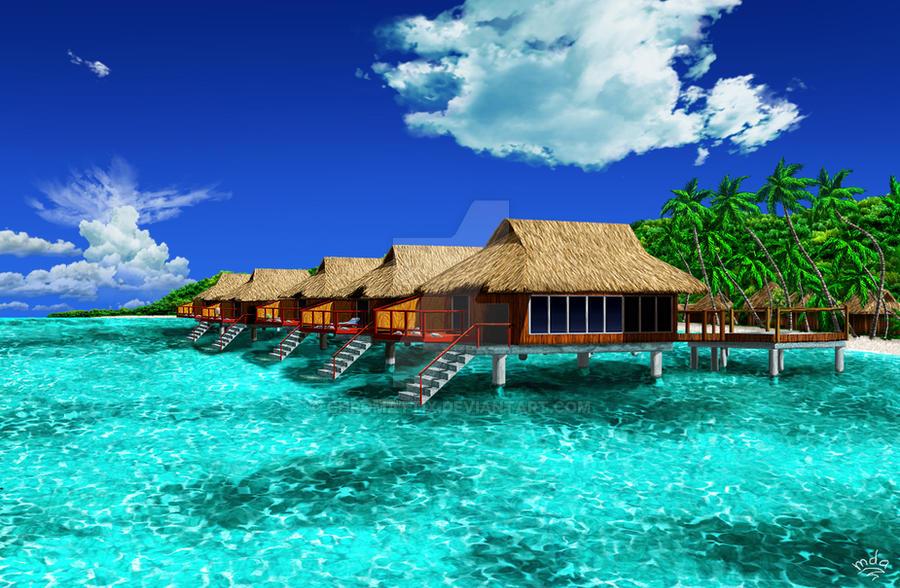 Paradise resort. by priteeboy