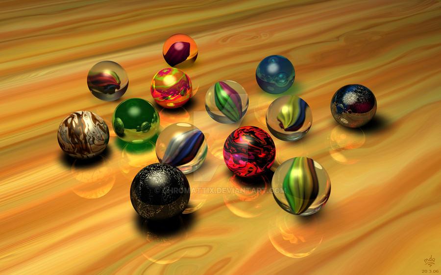 Marbles by priteeboy