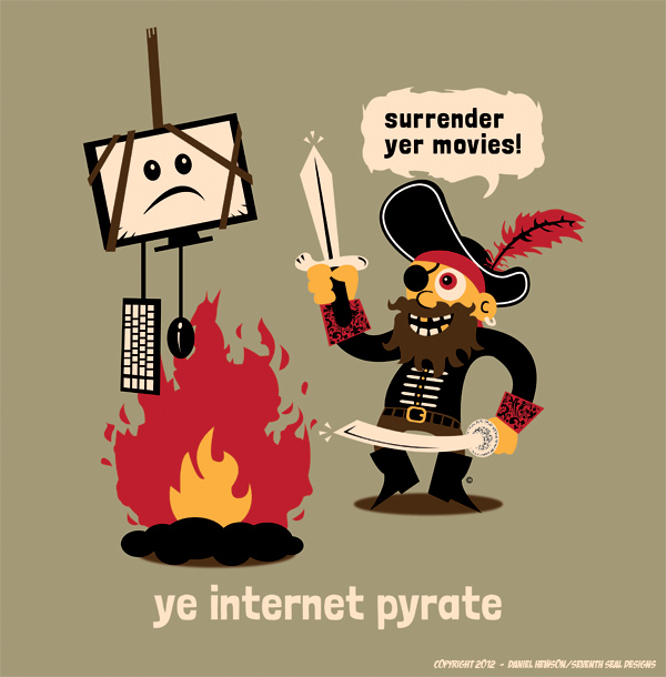 Internet Pirate by SeventhSealDesigns