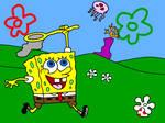 SpongeBob Jellyfishing