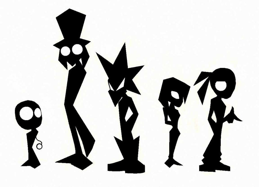 Character Design Silhouette Tutorial : Character silhouette by ironbloodx on deviantart