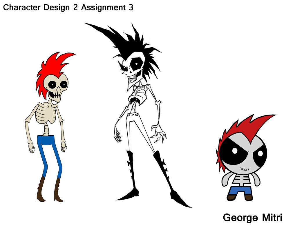 Character Design Art Style : Character design art style final by ironbloodx on deviantart