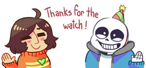 Thanks For The Whatch by Yoki-doki