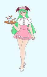 Waitress Morrigan