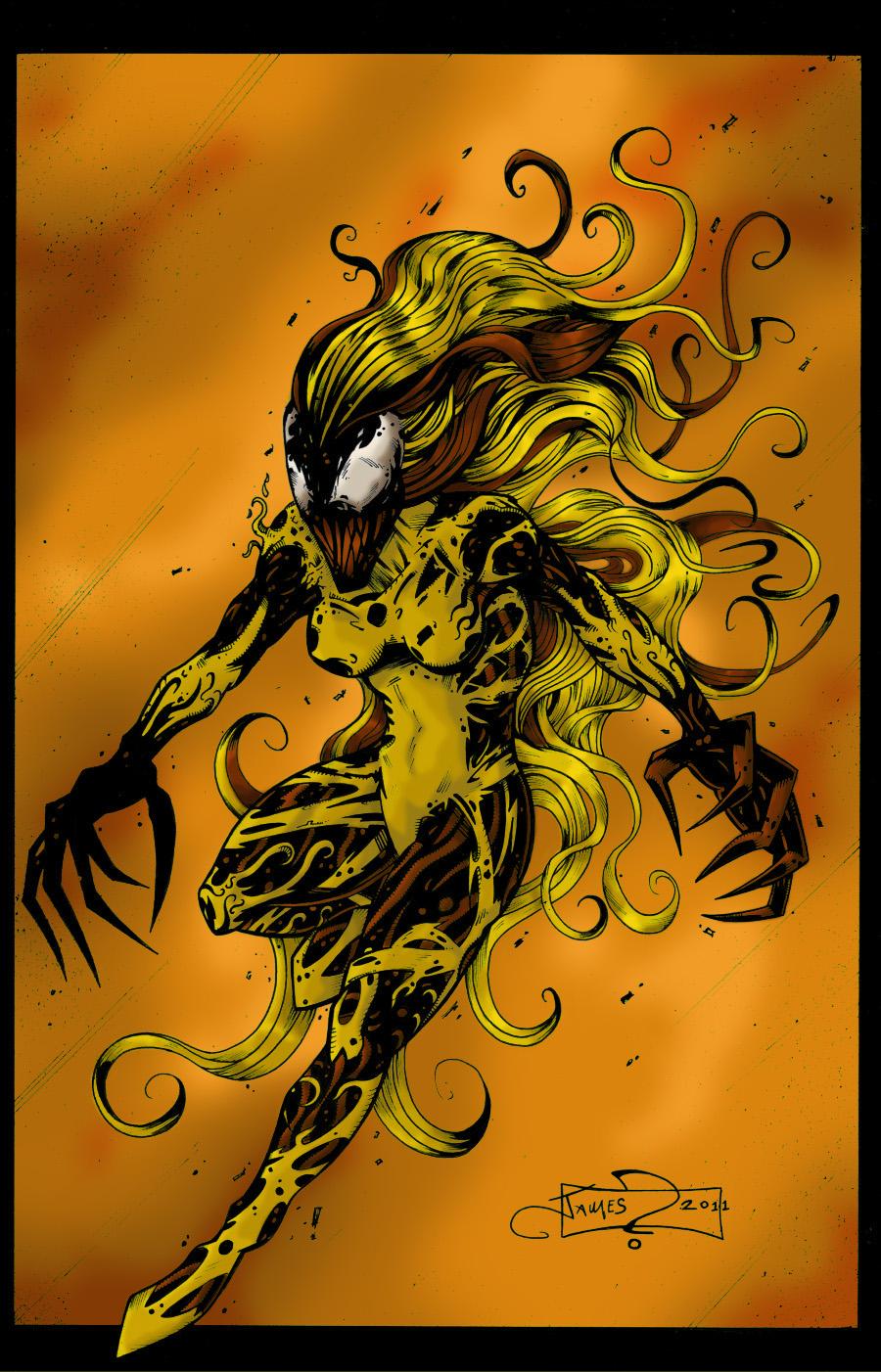Image Gallery scream symbiote