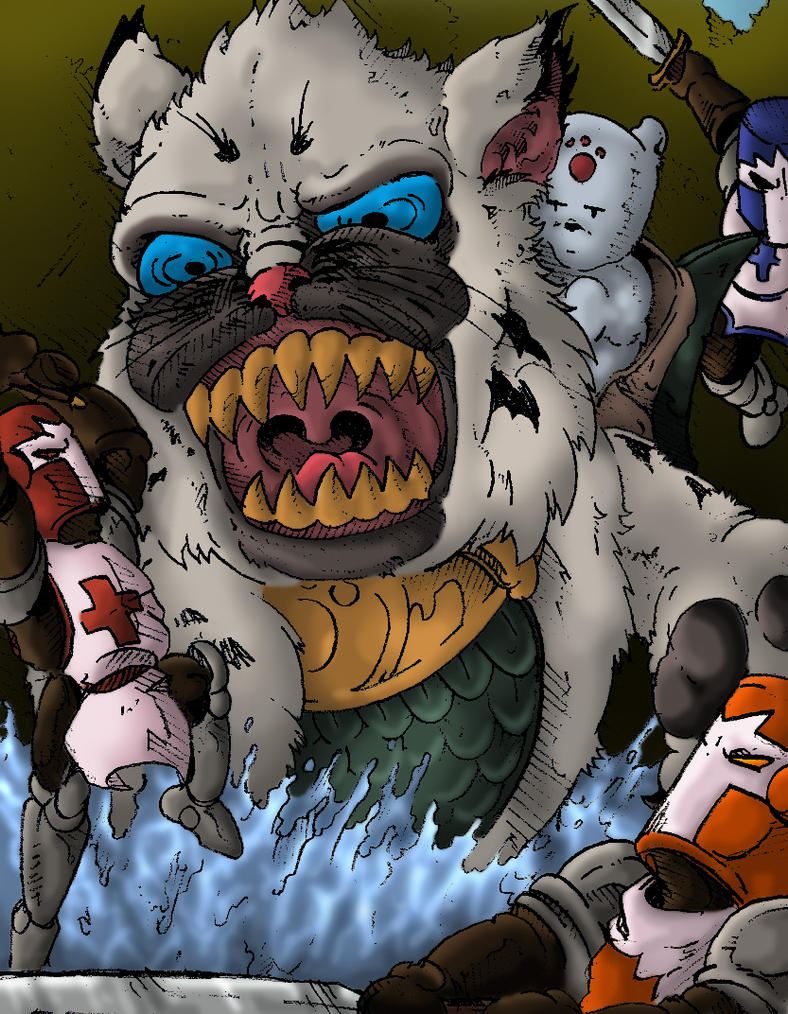 Kat Kong! by mortalshinobi