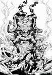 Behold, the power of Modok by mortalshinobi