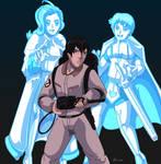 Ghost hunting you... by mortalshinobi