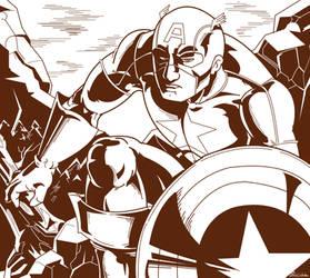 American Hero by mortalshinobi