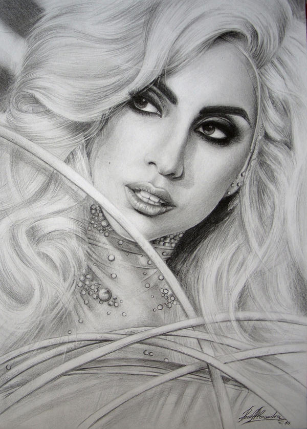 LADY GAGA by alexracu