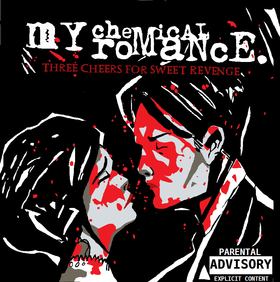 Three Cheers For Sweet Revenge-Digital Album Cover by ...