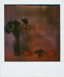 still life w. three tangerines by ashveenp