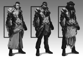 Character Design Recouvreur by Teterence