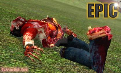 EPIC DEATH POSE by JL -GMod-