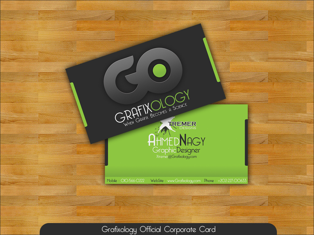 Business Card by XtrDesign on DeviantArt