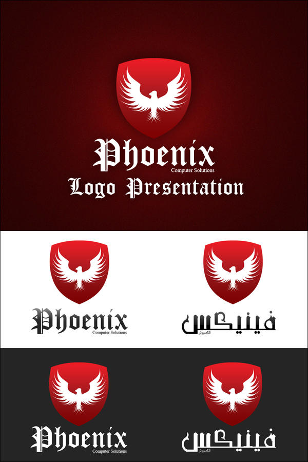 Phoenix Logo Presentation by XtrDesign