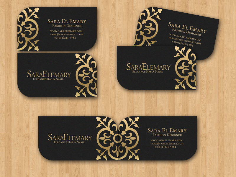 sara el emary business card by xtrdesign on deviantart