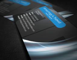 AN Business Card by XtrDesign