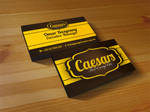 Ceasars Business Card