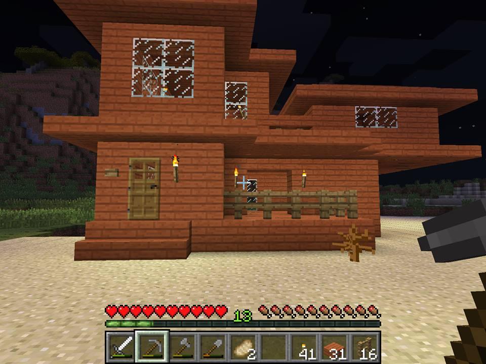 Minecraft Survival House By Batelg7 On Deviantart
