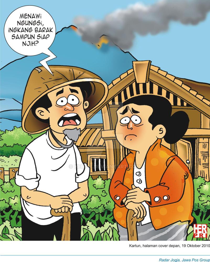 Merapi Kartun By Herpri On DeviantArt