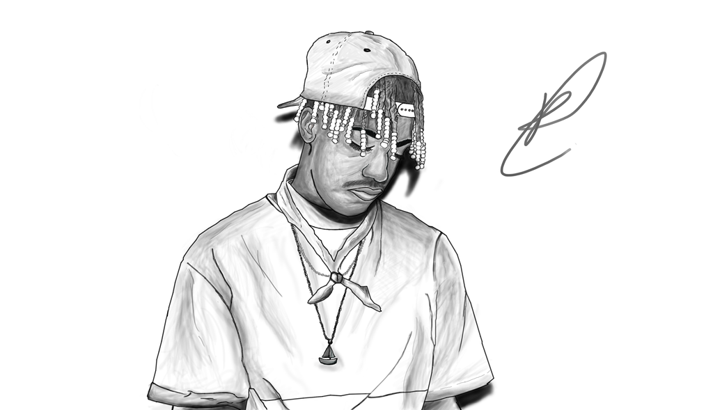 how to draw lil yachty