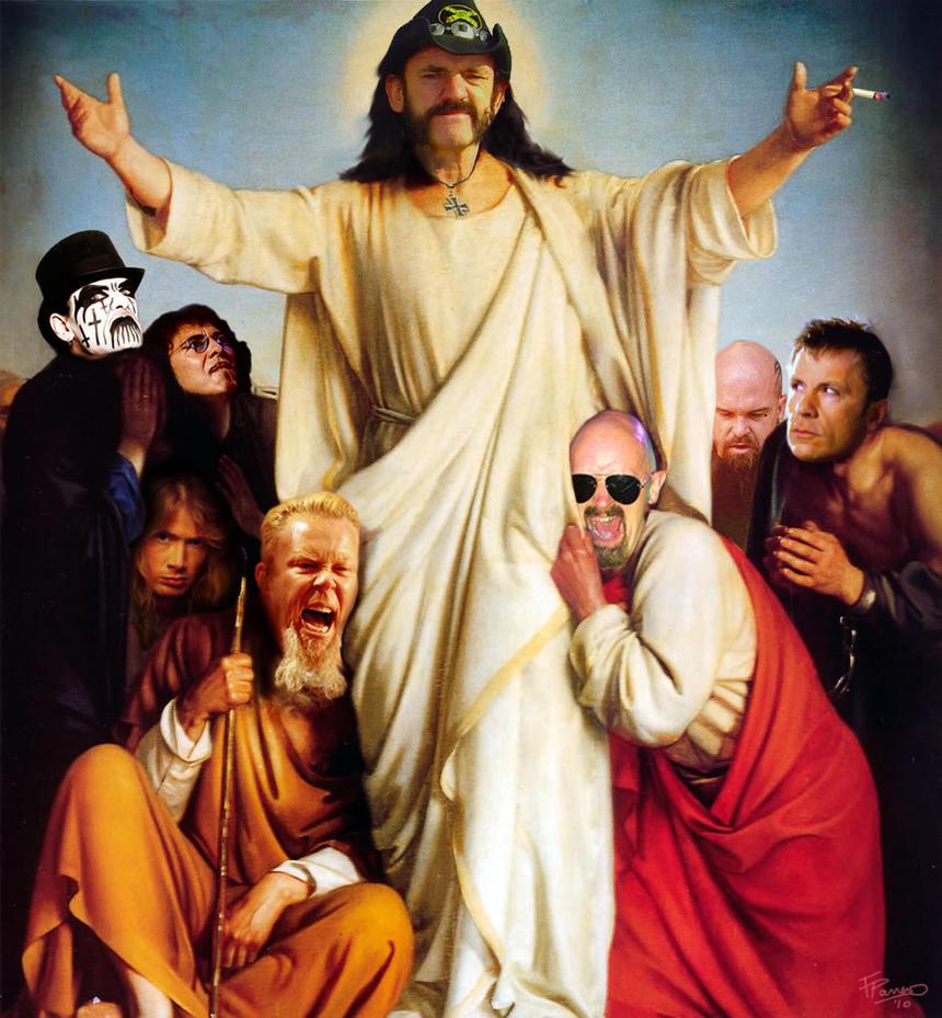 Metal Messiah by azathothian