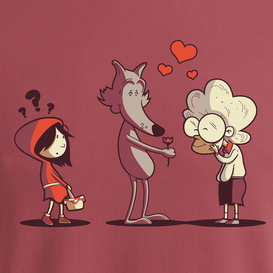 Little red riding hood - fixed by Naolito