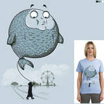 Balloon fish - t-shirt