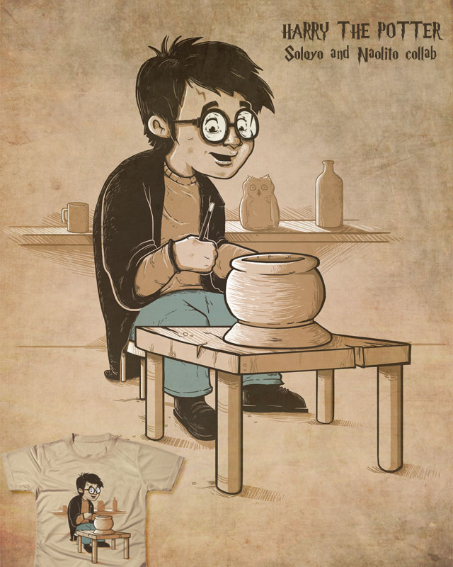 Harry the potter by Naolito