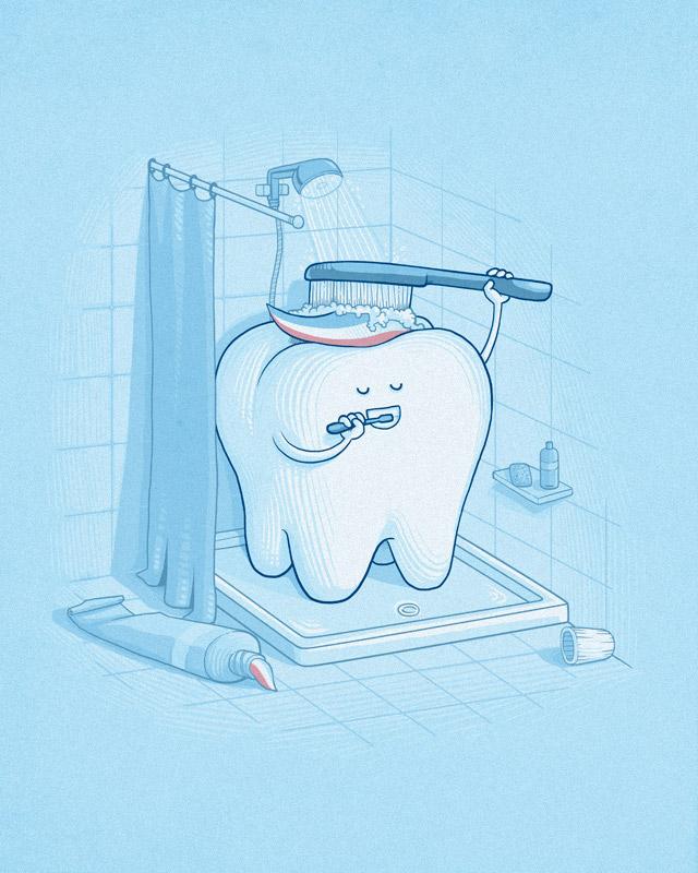 Dental hygiene by Naolito